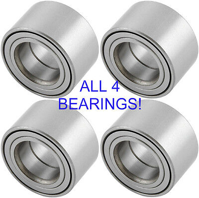 FOUR Yamaha Grizzly Front  Rear Wheel Bearings 2003 2015 550 660 700 all 4