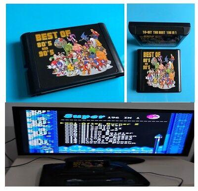 196,126, in 1 Multi  Sega Mega Drive Games Best Of 90s And 80s Mega Drive