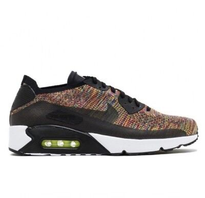 NIKE AIR MAX 90 QS ULTRA FLYKNIT SNEAKERS MULTI-COLOR 875943-002 SIZE 13