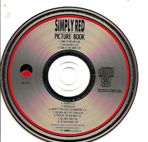 SIMPLY RED Picture Book  GERMANY USA CD ALBUM