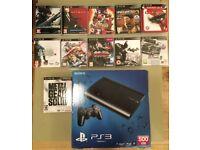 PS3 Slim + 11 Games Bundle