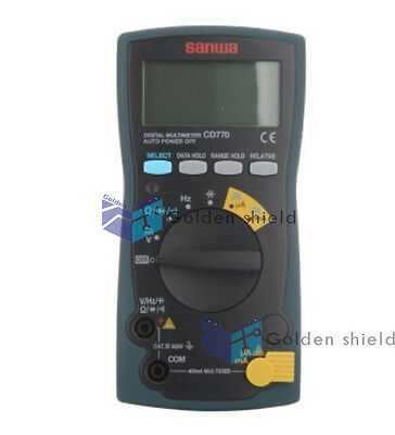 Sanwa Cd770 Digital Multimeters Standard Type 3-34 Digits 4000 Count