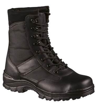 SECURITY Stiefel EINSATZSTIEFEL Swat Boots mit Stahlkappe  38-47 (Stiefel Swat)