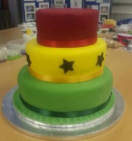 50 % discount - Introduction to Cake Decorating workshop