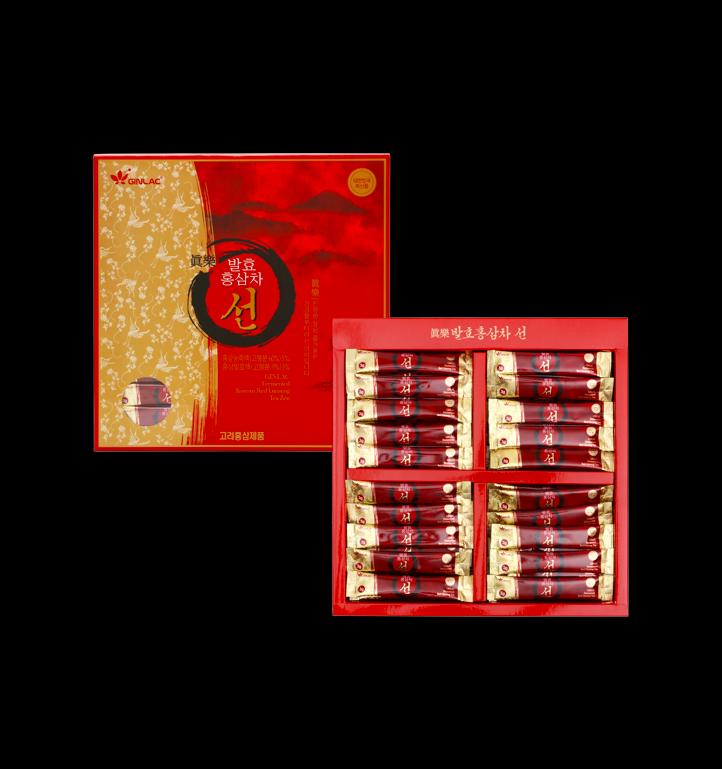 (130€/kg) GINLAC ZEN Roter Ginseng Tee Extrakt Wunder-Vital-Pilz Reishi 300g BIO