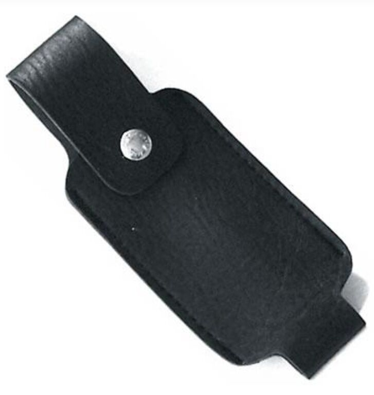 Leatherette Holster FOR 4 oz HOT Wildfire Pepper Shot Self Defense Pepper Spray