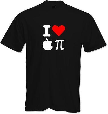 I love (heart) Apple Pi (Pie) - Apple Fan - Funny American Pie?, Quality T-shirt