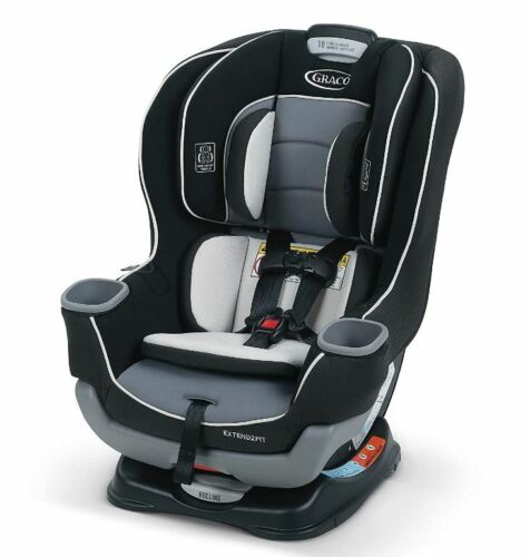 Graco Extend2Fit Convertible Car Provide Durability Seat Ride Rear-Facing Longer