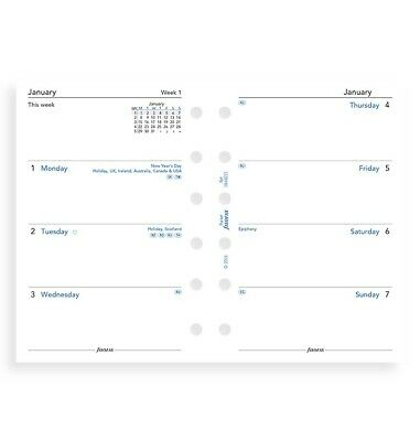 2021 FILOFAX Pocket Week on Two Pages Diary/Calendar 21-68221