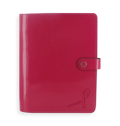 Filofax Original Organizer A5 Fuchsia Leather for Cancer Awareness  16-022440PK