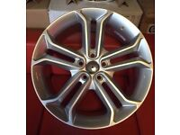 """18"""" BRAND NEW FORD ST 2 SIL STYLE ALLOY WHEELS TO FIT VOLVO JAGUAR FORD RENAULT"""