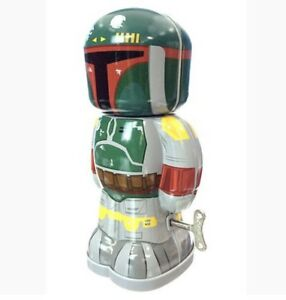 Star Wars Boba Fett Wind-Up Tin Toy