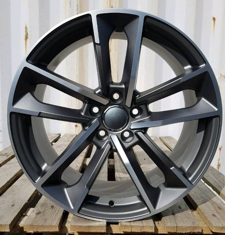 LATEST 18'' AUDI RS7 STYLE ALLOY WHEELS X4 BOXED 5X112 A3 A4 A6 A8 Q3 CADDY