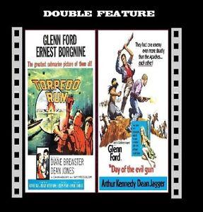 Torpedo Run / Day Of The Evil Gun ( Glenn Ford ) Region 2 compatible DVD