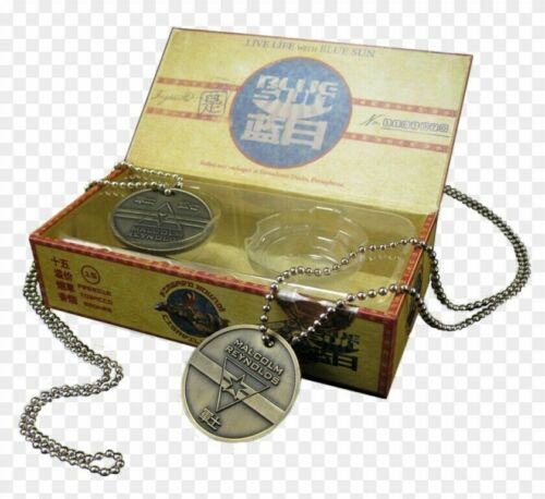 QMx Sgt. Malcolm Reynolds Dog Tags FIREFLY/SERENITY Prop from QMX- Sealed Box