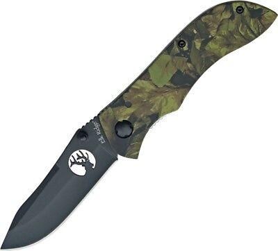 Elk Ridge Camo Folding Knife 3 5/8