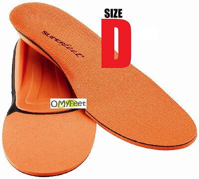 Superfeet Orange Einlegesohlen Orthesen Fußbogen Stütze Herren Schuh Größe