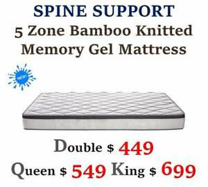 TOP Quality Spring Mattress - Pillow Top/Latex/Memory MATTRESS