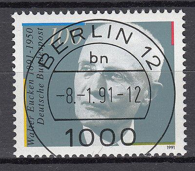 BRD 1991 Mi. Nr. 1494 gestempelt BERLIN 12 , mit Gummi TOP! (16512)