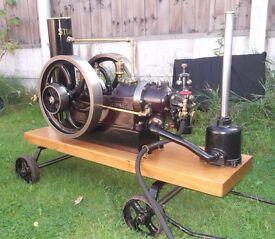 Stationary Engine, Stuart 600 Gas Engine.