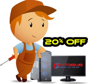 20% Off Computer Repair  - Let Us Come To You