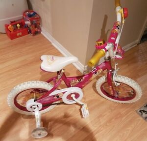 Girls Disney Bicycle for sale - 3 to 6 years