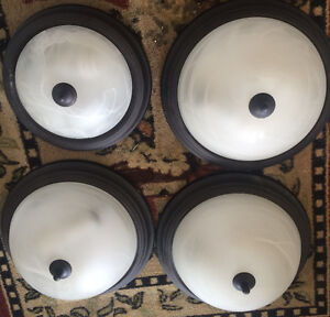 ceiling lights - excellent condition