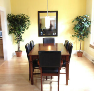 Updated 3-bedroom downtown duplex with extras & ample parking
