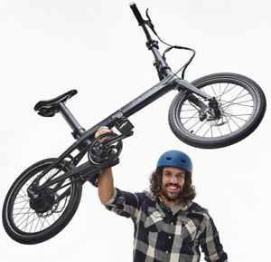 CARBO the World's Lightest Electric Folding Bike only 12.9Kg!