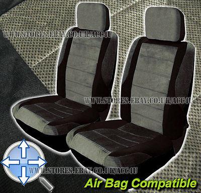 Set Of 2 Carnaby Blue//black Sakura SS5322 Seat Belt Pads Universal Fit