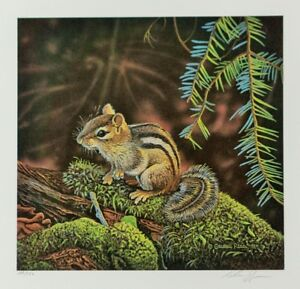 Canadian Art, Wildlife Prints, Limited Edition, Signed, Numbered