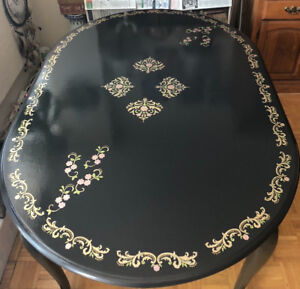 Dining Table Hand Painted