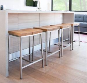 Three GUS Modern Stylegarage Stanley Stools