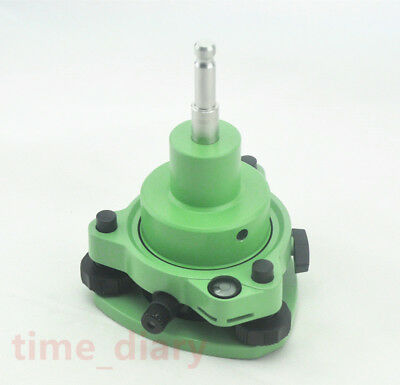 New Green Three-jaw Tribrach Woptical Plummet Adapter Fit Leica Prism