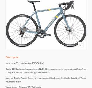 "Vélo ""Crosscountry"" pour dame"