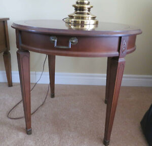 Living room round side / accent table