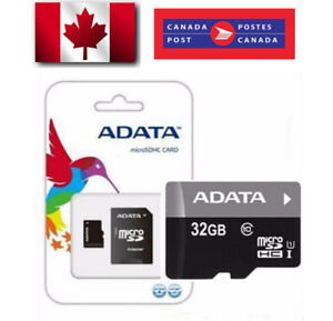 ADATA 32 GB Memory Cards - 2 Cards for $40