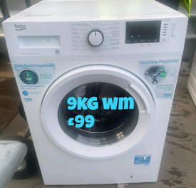 Beko 9kg washing machine free delivery in Birmingham