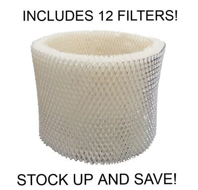 Humidifier Filter Replacement for Sunbeam Holmes Type D (12-Pack)