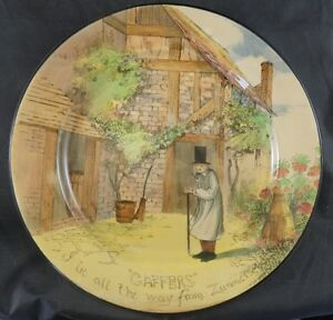 Royal Doulton Plate THE GAFFERS