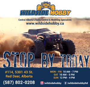 WILDSIDE HOBBY- Central Alberta's Radio Control Superstore