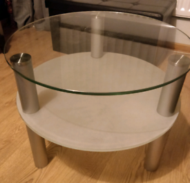 FREE Glass side table/coffee table