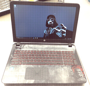 Unleash your inner Sith,  Special edition Star Wars HP laptop