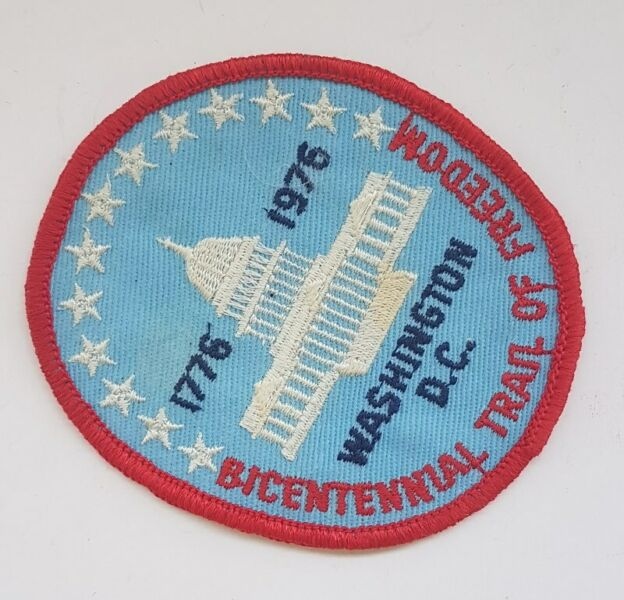 Washington D.C. 1776 to 1976, The White House, Hobbyist patches, badges Collectibles, Memorabilia