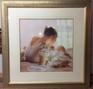"Beautiful framed print titled ""Love Light"" by Peter Quidley"