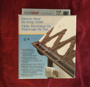 Brand New Electric Roof & Gutter De-icing Cable 60 Feet