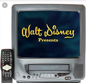 Does anyone have a TV + VHS/VCR Combo?