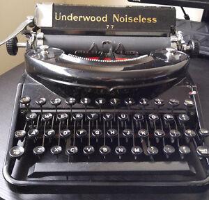 Vintage 1935 Underwood typewriter Noseless77 Kingston Kingston Area image 2