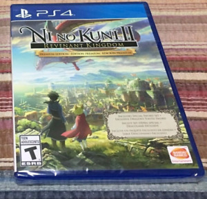 Ni no kuni 2 premium edition ps4