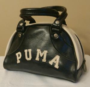 Black & White PUMA Bag